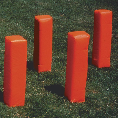 Weighted Football Corner Pylons