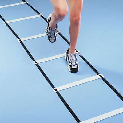 Flat Rung Agility Squares