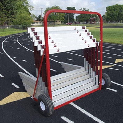 2 Wheel Hurdle Cart