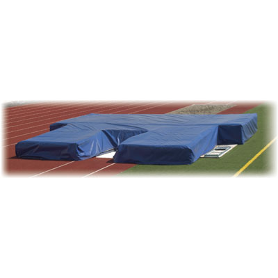"H.S. Pole Vault Pit by Cantabrian - 32"" high - All Weather Cover"