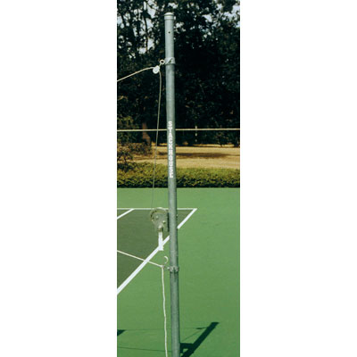 Outdoor Volleyball End Standard with Winch photo